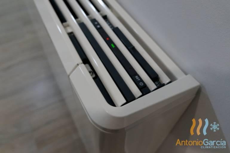 Instalación de Climatización con fancoils