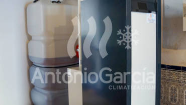 Instalación de caldera de gasoil